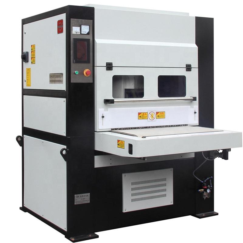 deburring and edge rounding machine