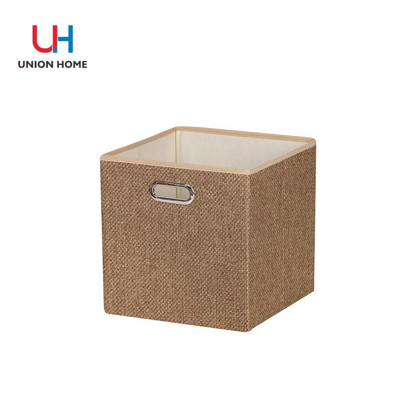 Ovalcorns woven cloth storage box