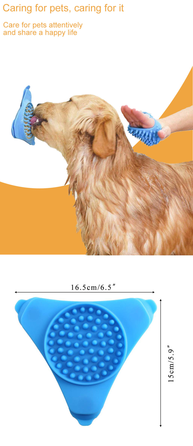 Pet bow silicone dog