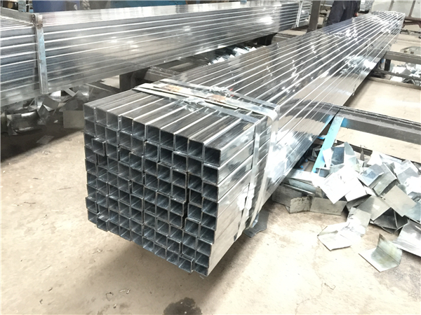 steel pipe fence