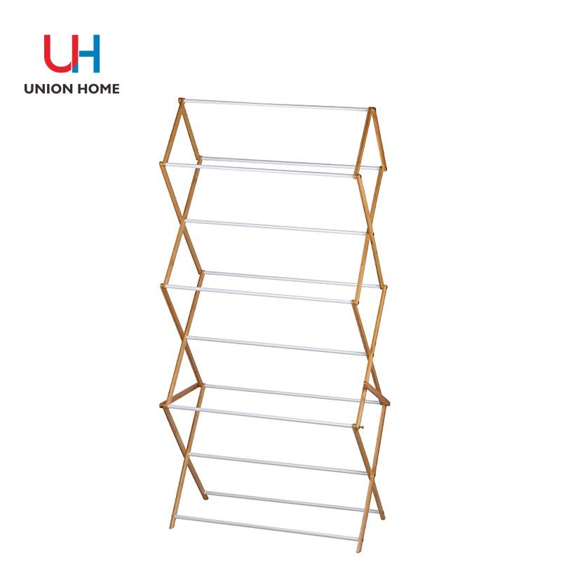 Bamboo towel rack
