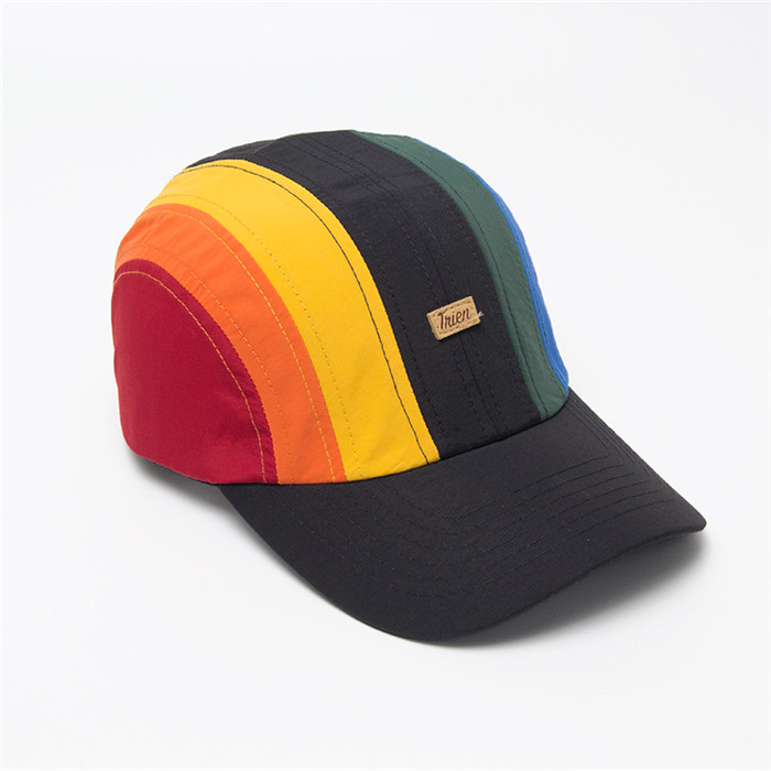 Rainbow melon baseball cap