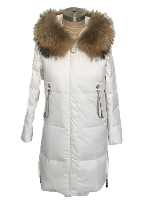 women down jacket with hood cost