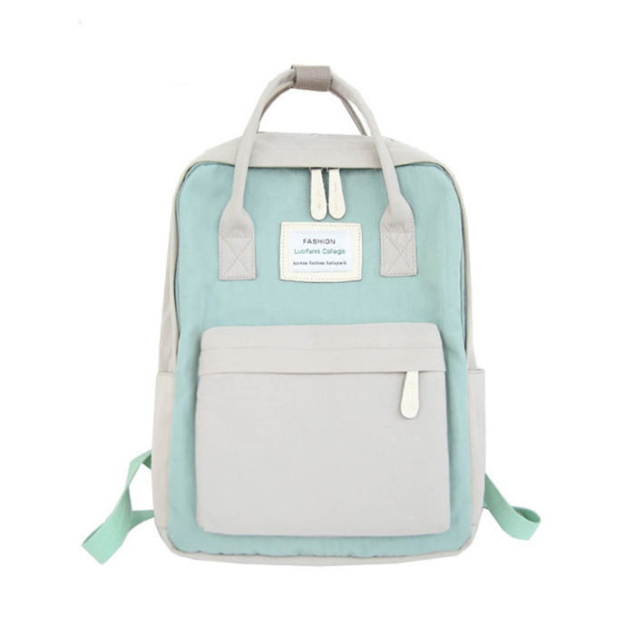 Candy Color Waterproof School Bags