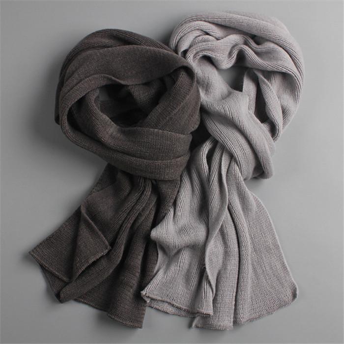 Warm winter scarves long size