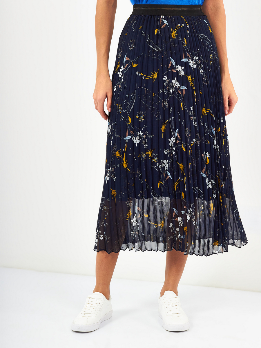 Flora Pleated Skirt