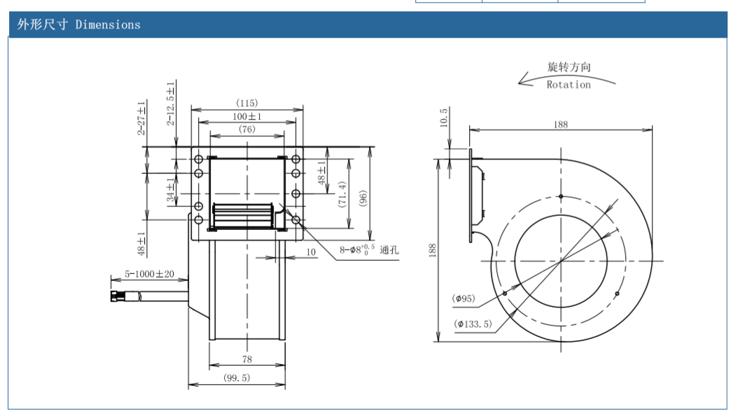 centrifugal fan nicotra