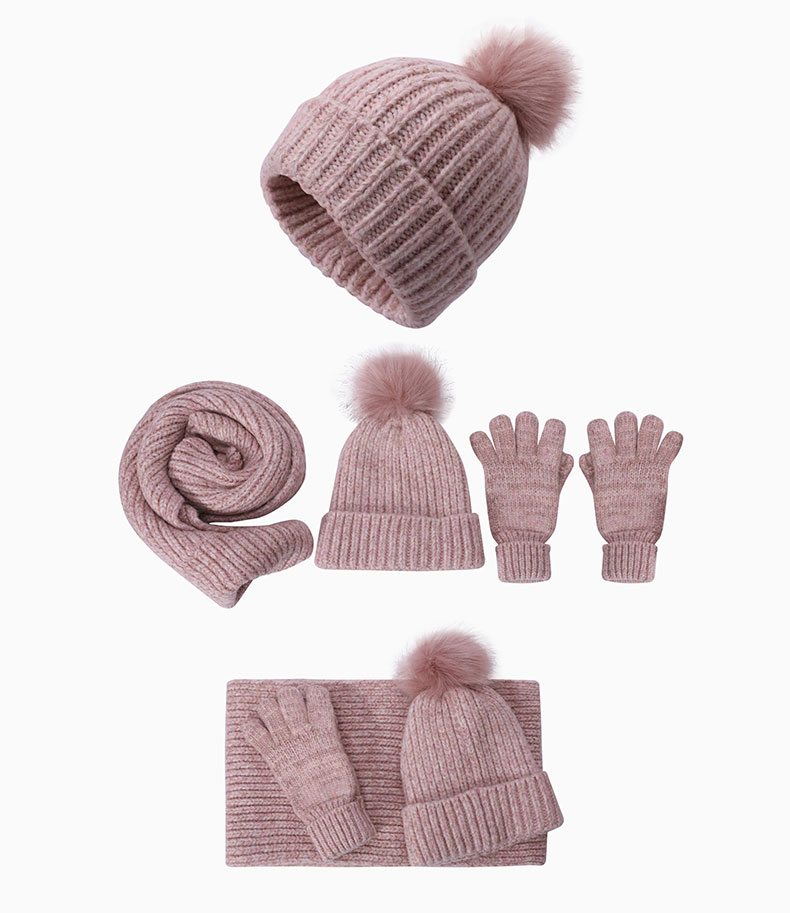 scarf and hat set crochet