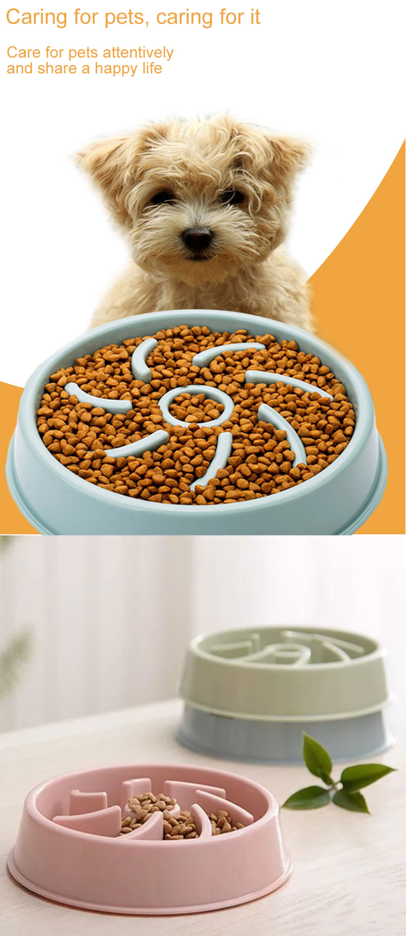 Dog bowl animal feeder