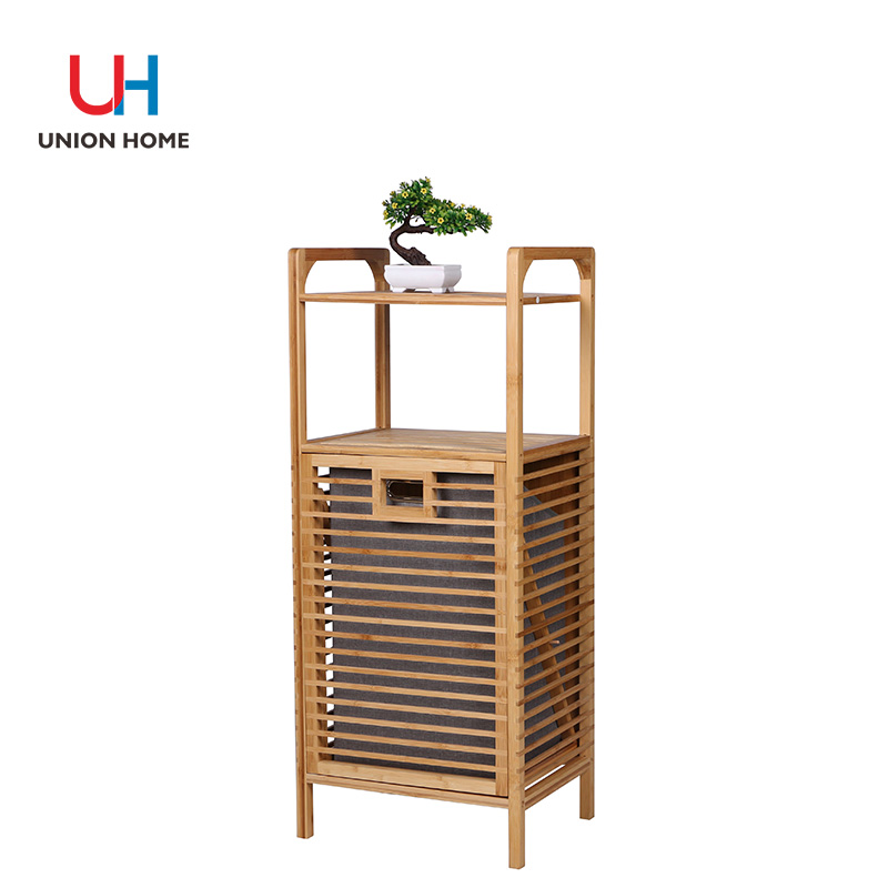 Faux linen bamboo multi-function frame
