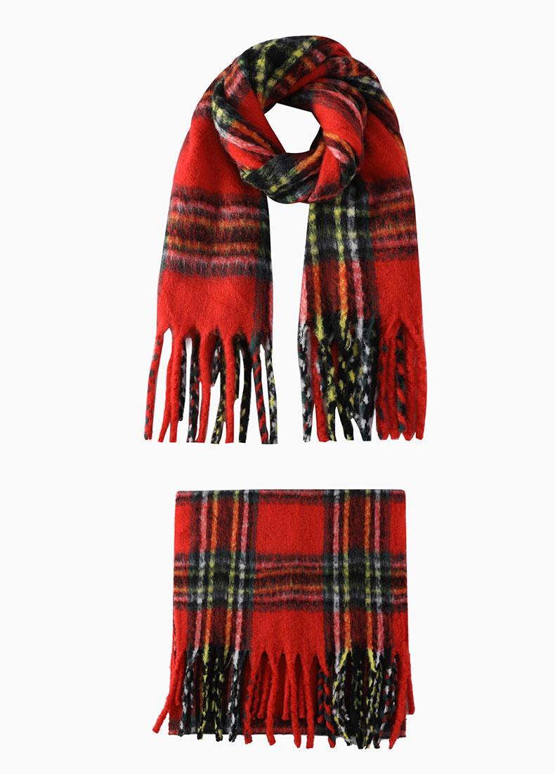knit scarf pattern size 11 needles