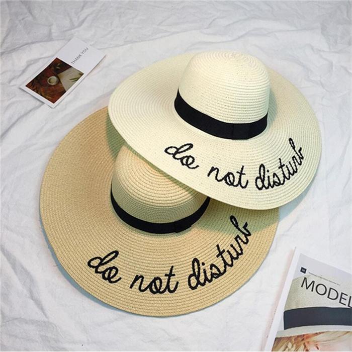 Summer Womens Wide Brim Sun Hat