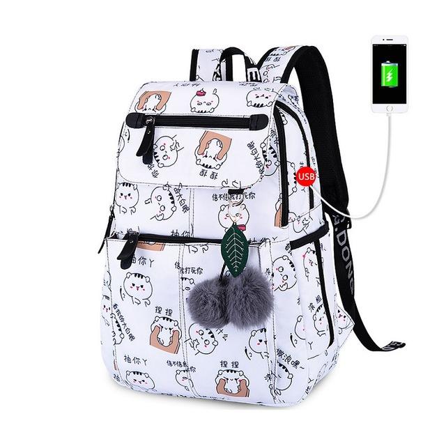 Fashion Girl College School Bag