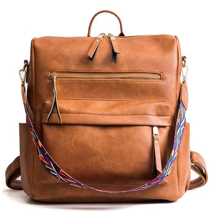 Retro Large Backpack