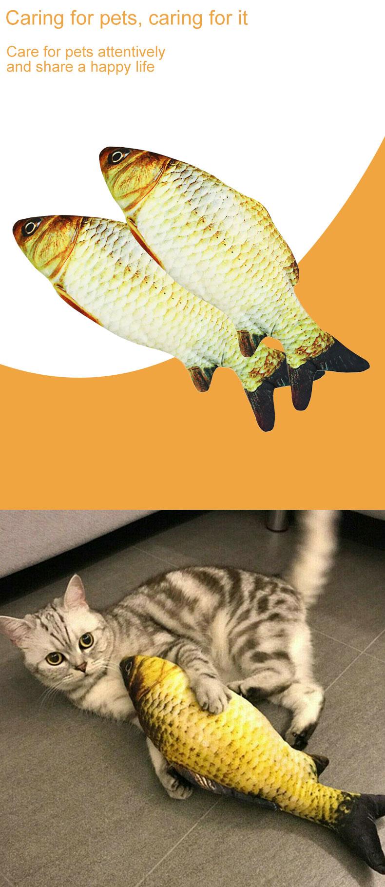 Pet cat Fish toy Supplier