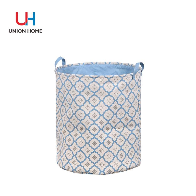 Storage bucket with compound eva