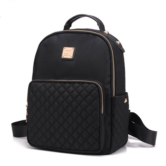 Nylon Women Backpack