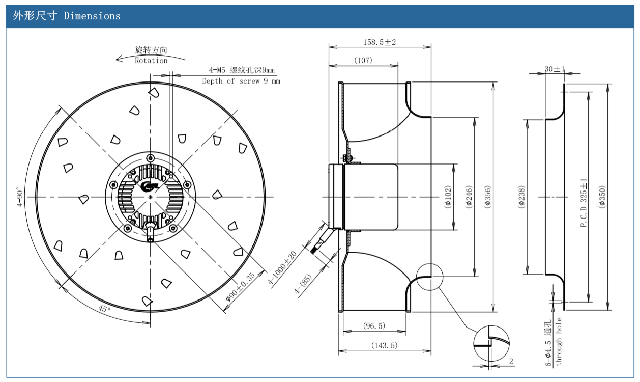 centrifugal fan online selection