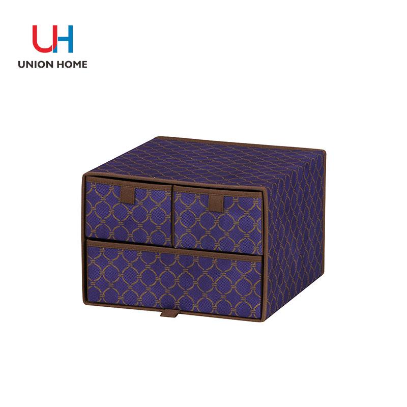 Cardboard nonwoven storage box