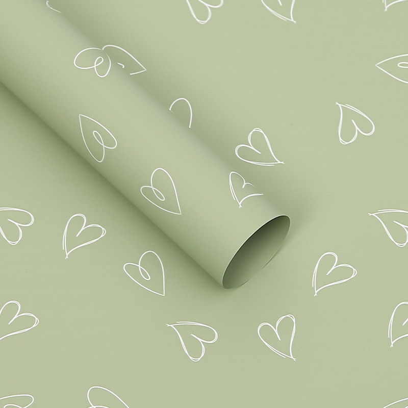 Pearl film wrapping paper