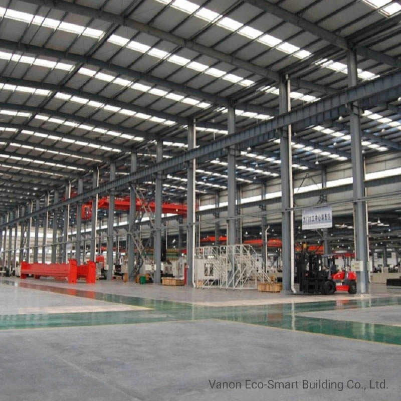 Steel Frame Building Factory Workshop