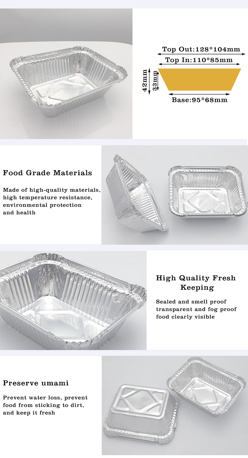 can we use aluminium foil tray in oven