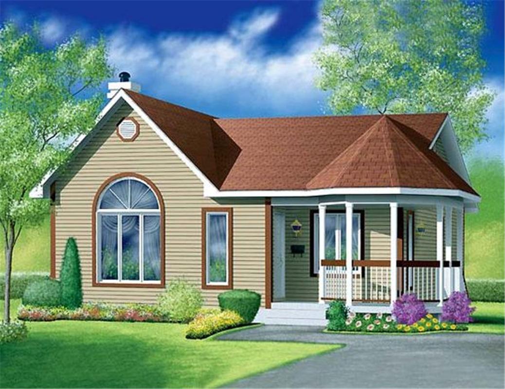 light steel structure villa house building