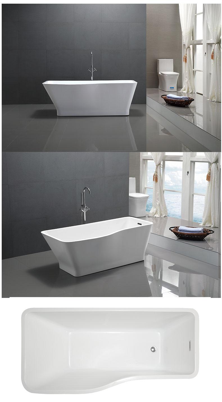 China Customized freestanding bathtub manufacturers