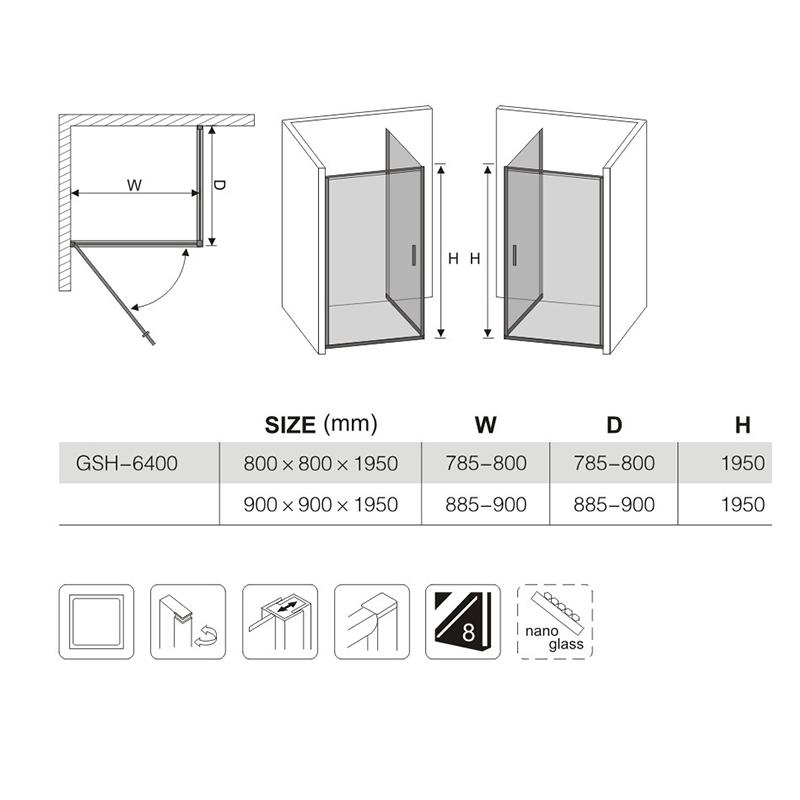 shower enclosure installation suppliers