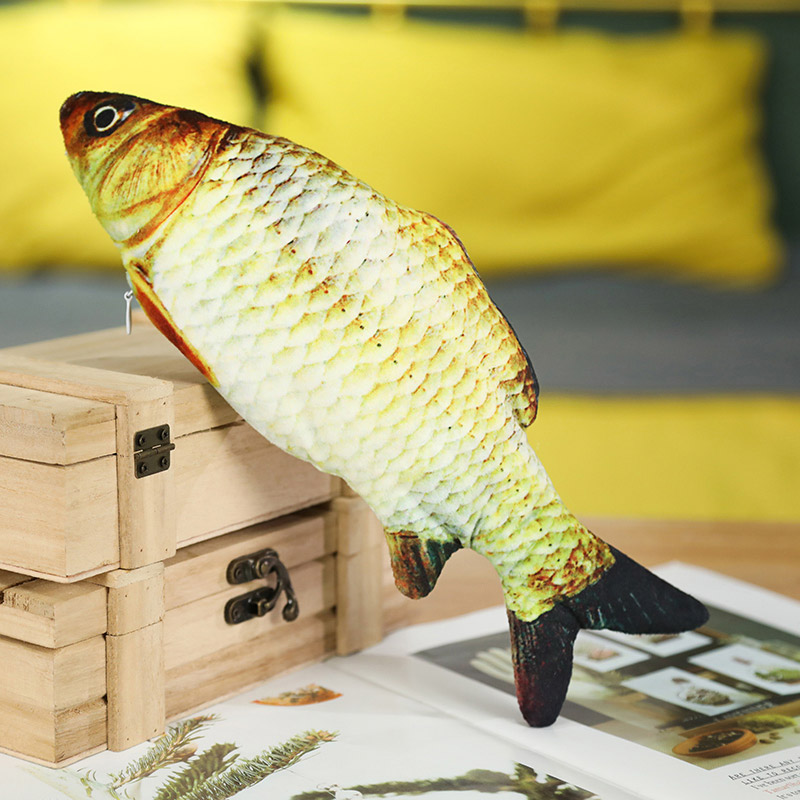 Simulated fish toy